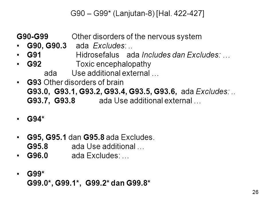 G90 – G99* (Lanjutan-8) [Hal. 422-427]